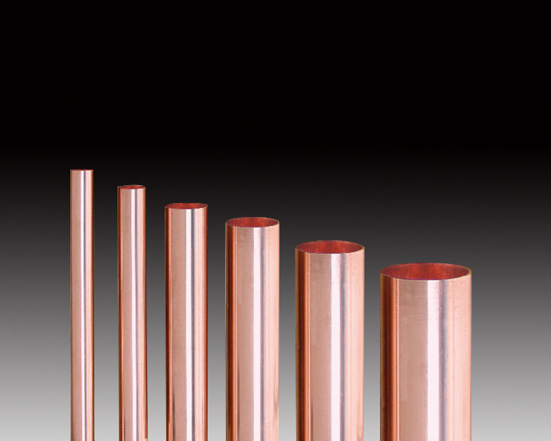 Copper tube for radio frequency cable