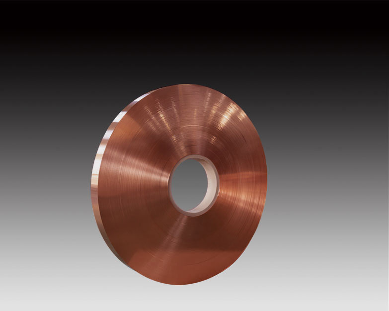 Production process of copper strip