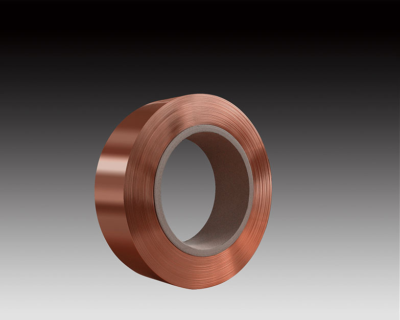Copper strip for transformer